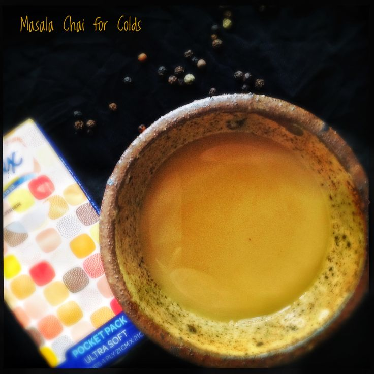 Wintery Maslal Chai, Good for Colds