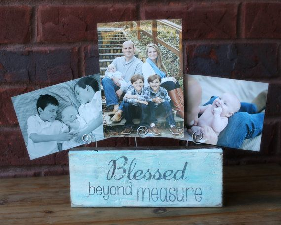 Blessed Beyond Measure Picture Holder White by xBeyondBlessedx