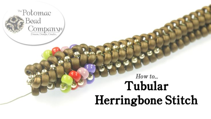 This video tutorial teaches you how to weave beads together with tubular herringbone stitch. ~ Seed Bead Tutorials