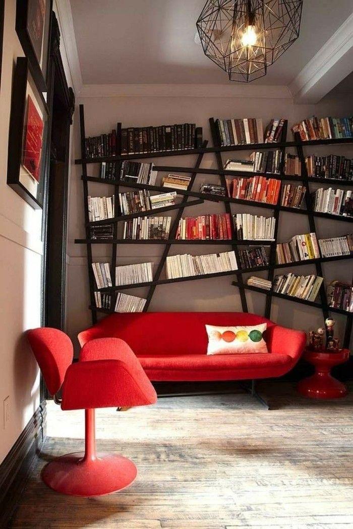Die besten 25+ Wohnzimmer rot Ideen auf Pinterest blaue - wohnzimmer gestalten rot