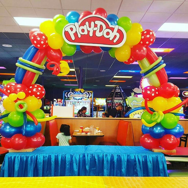 Pin By Christina Reyna On Play Doh Birthday Party In