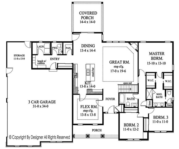 Best 25+ Ranch floor plans ideas on Pinterest Ranch house plans - site plan template