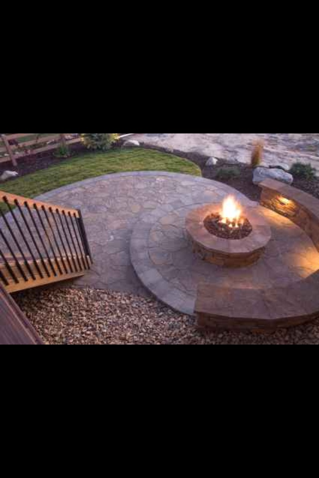 Fire Pit It Would Be Cool If It Was A Swirl For The
