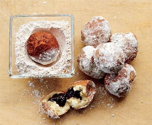 chocolate vegan beignets