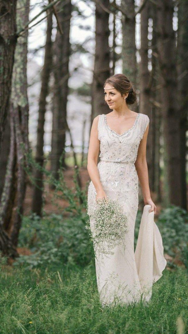 Best 25 gatsby wedding dress ideas on pinterest great gatsby jenny packham esme size 8 silver wedding dressesjenny junglespirit Gallery