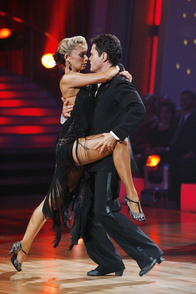 Season 9 - Donny Osmond & Kym Johnson.Was my very first crush.Please check out my website thanks. www.photopix.co.nz