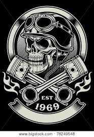 biker skull tattoos - Google Search