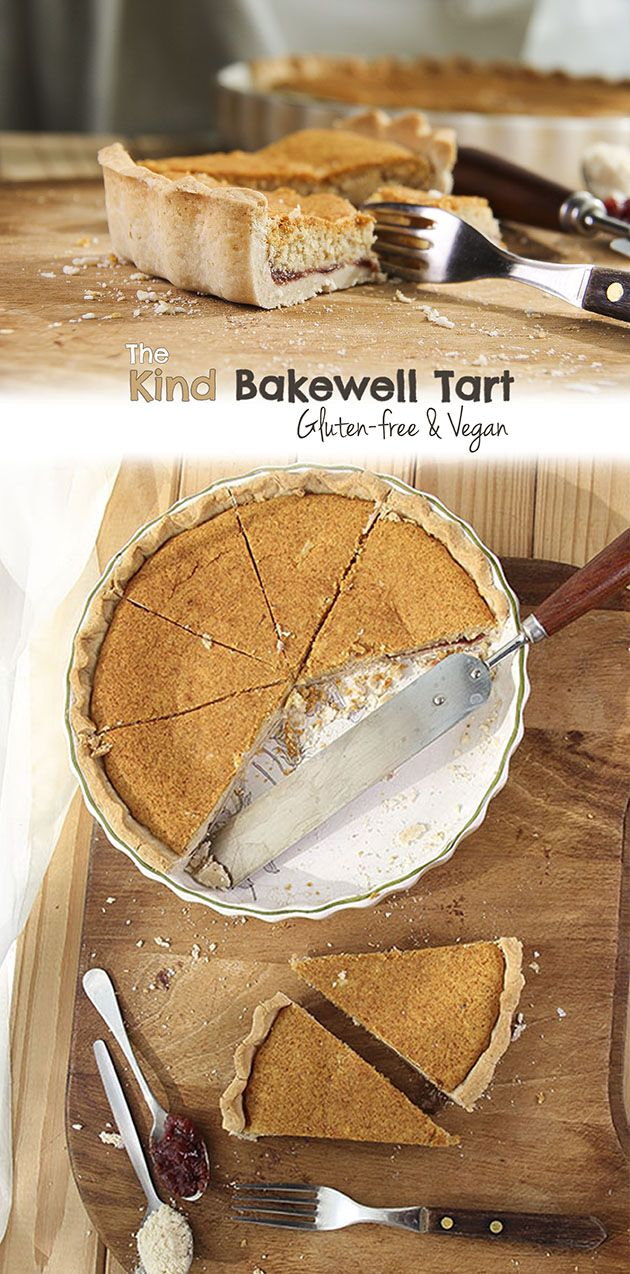 The Kind Bakewell Tart without refined sugar. Totally allergy-free! #glutenfree #vegan #plantbased