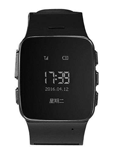 KoTeel GPS Tracker Watch for Elderly Personal Google Map Call Button Geofence Alarm GSM GPRS Locator (Black) *** Read more  at the image link.