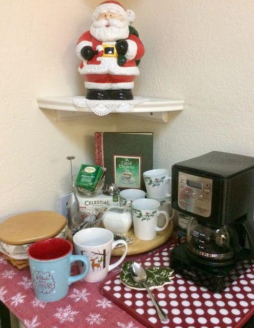 Coffee & Christmas Tea Station