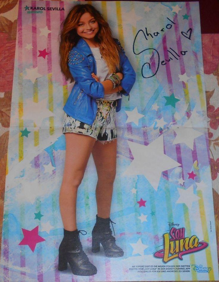 Karol Sevilla Soy Luna Magazine Poster A3 In 2019