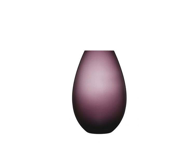 Cocoon Vase by Holmegaard. Skulle ønske de lagde de fortsatt i brunt og lilla............