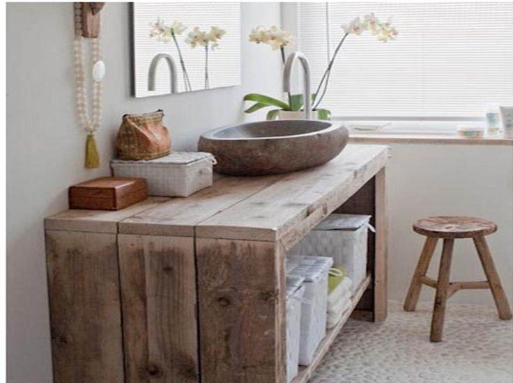 17 best images about meubles salle de bain on pinterest met and contours - Meuble de salle de bain style ancien ...