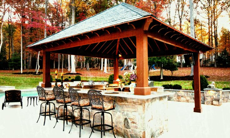 Breathtaking Backyard Bar And Grill Ideas | Backyard bar ...