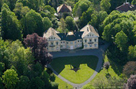 Die Villa Eugenia in Hechingen vor Beginn der Sanierung
