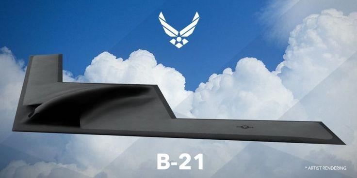 Inilah Jet Tempur B-21 Stealth Bomber Terbaru Milik US Air Force | http://www.hobbymiliter.com/3000/inilah-jet-tempur-b-21-stealth-bomber-terbaru-milik-us-air-force/