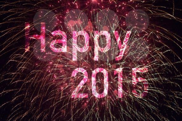 Happy New Year 2015 Fireworks HD