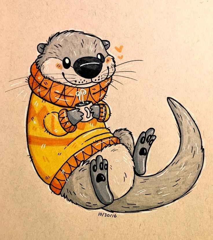 12+ Cute otter coloring pages information
