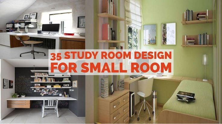 35 Study Room Design For Small Room - YouTube