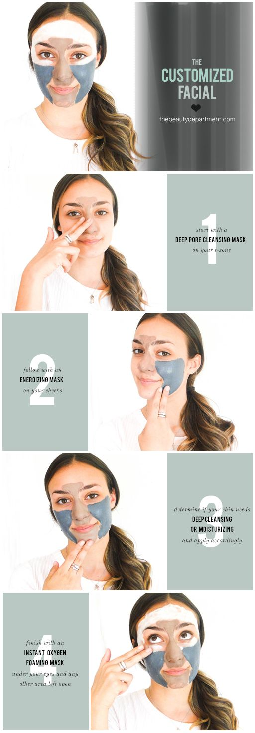 Multi-Masking! Different areas call for different masks!