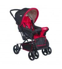 Kanz Rainer Çift Yönlü Bebek Arabası - Kırmızı