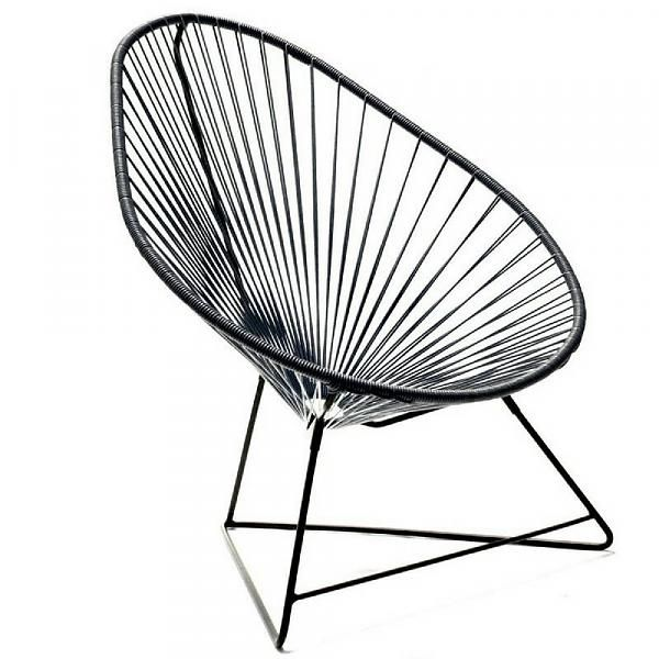 ACAPULCO Chair in Black