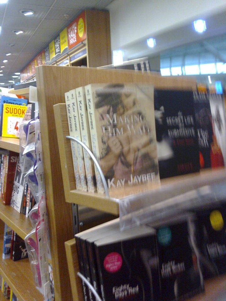 On the shelves at Stanstead :-)