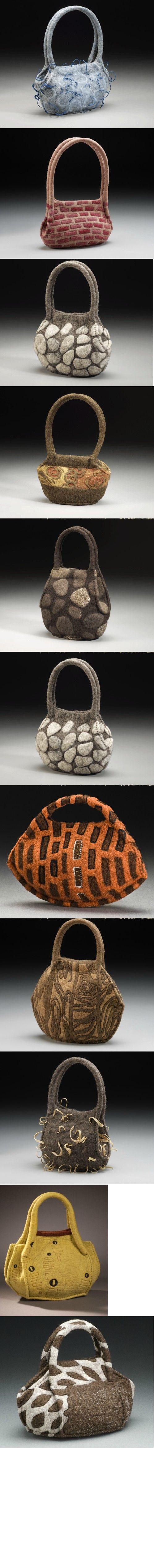 http://www.strongfelt.com/  Lisa Klakulak's creativity-- she's fantastic!