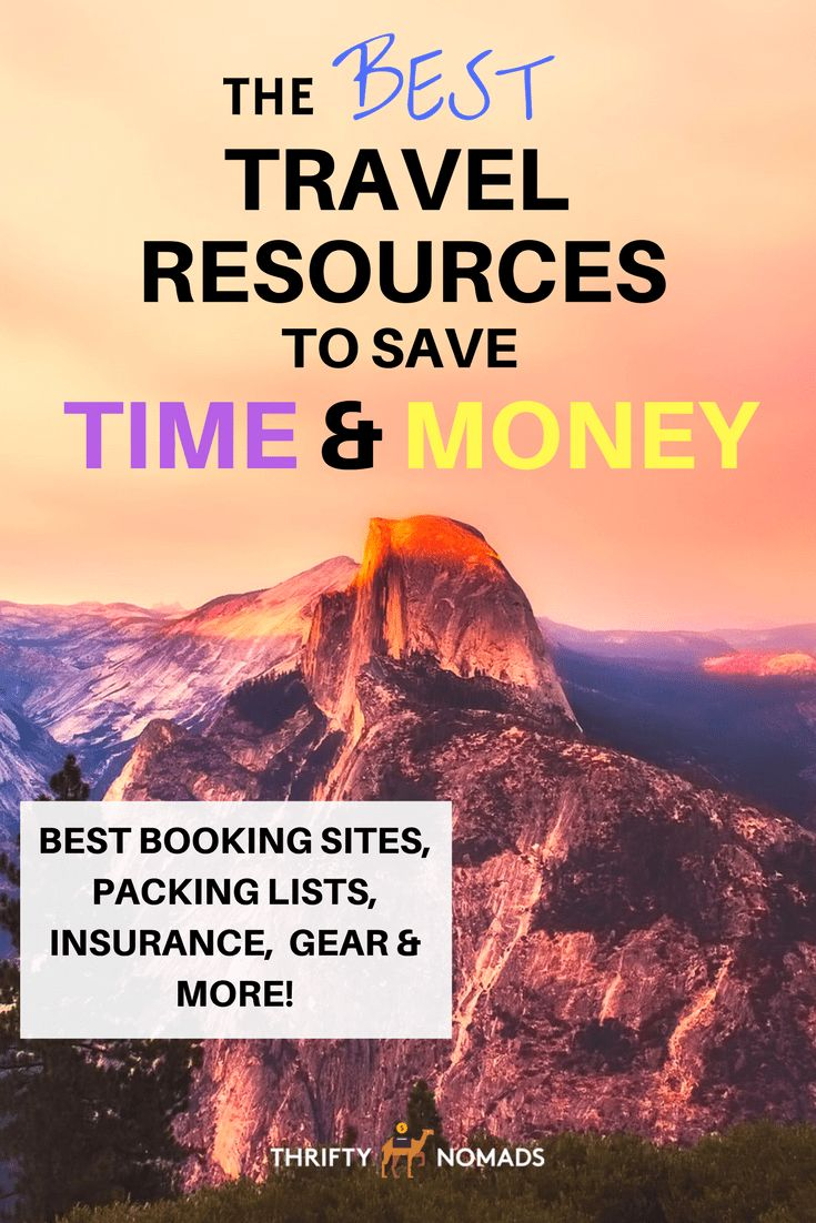 The best booking sites, packing lists, insurance, gear, and more to save you time and money on your next trip! via @thriftynomads