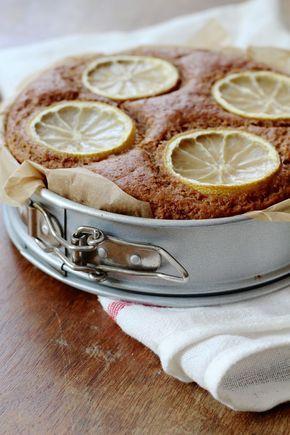 Italiaanse citroentaart - vegan, uiteraard! Van de Groene Meisjes.