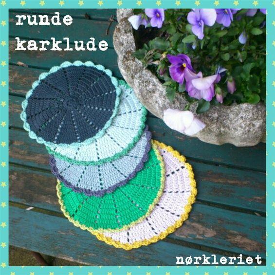 RUNDE KARKLUDE - www.noerkleriet-garn.dk