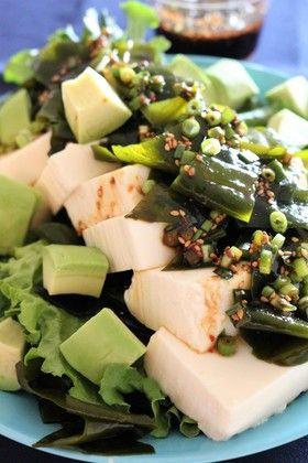 ★豆腐とわかめの韓国風サラダ。 by ★いも★ [クックパッド] 簡単おいしいみんなのレシピが262万品