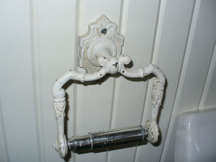 shabby chic toilet paper holder - Google Search