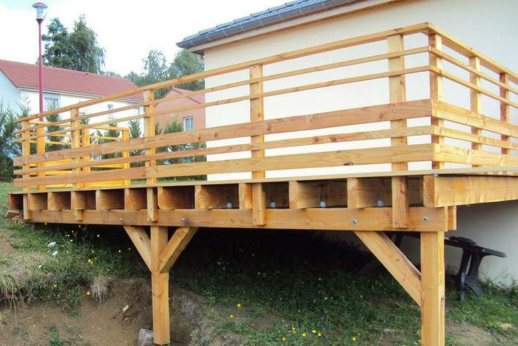 Terrasse bois sur pilotis (18 messages) - ForumConstruire.com
