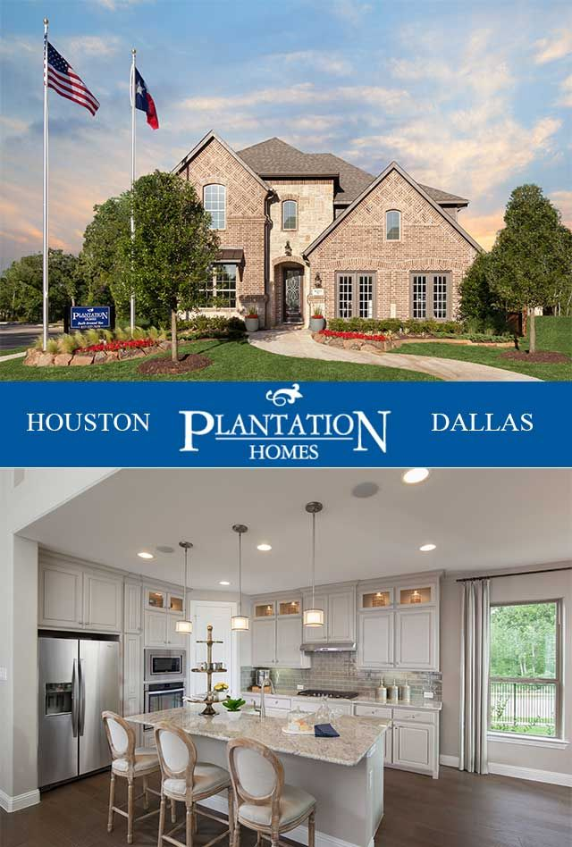 Available New Homes for Sale in Houston, Dallas-Fort Worth, TX | Plantation Homes