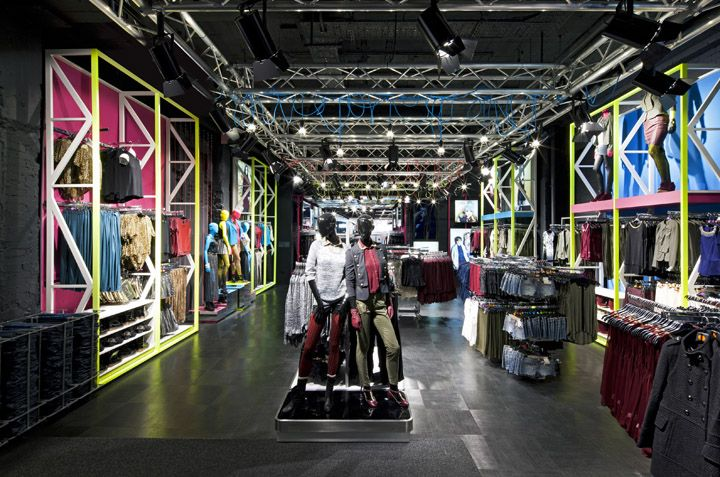Primark store at Oxford Street by Dalziel and Pow, London