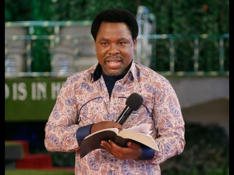 How To COUNSEL Yourself - TB JOSHUA
