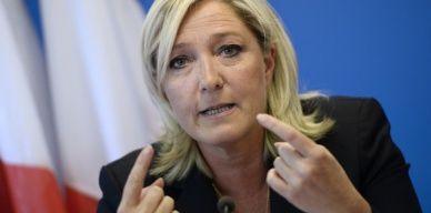 France. 43% des Français ont une bonne opinion de Marine Le Pen mais la juge inapte à gouverner. Octobre 2014.