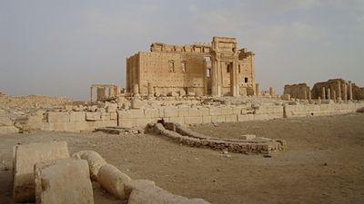 Baalův chrám ve starověké Palmyře