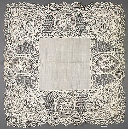 early 19th Century, English (Bedfordshire), Bobbin Lace.