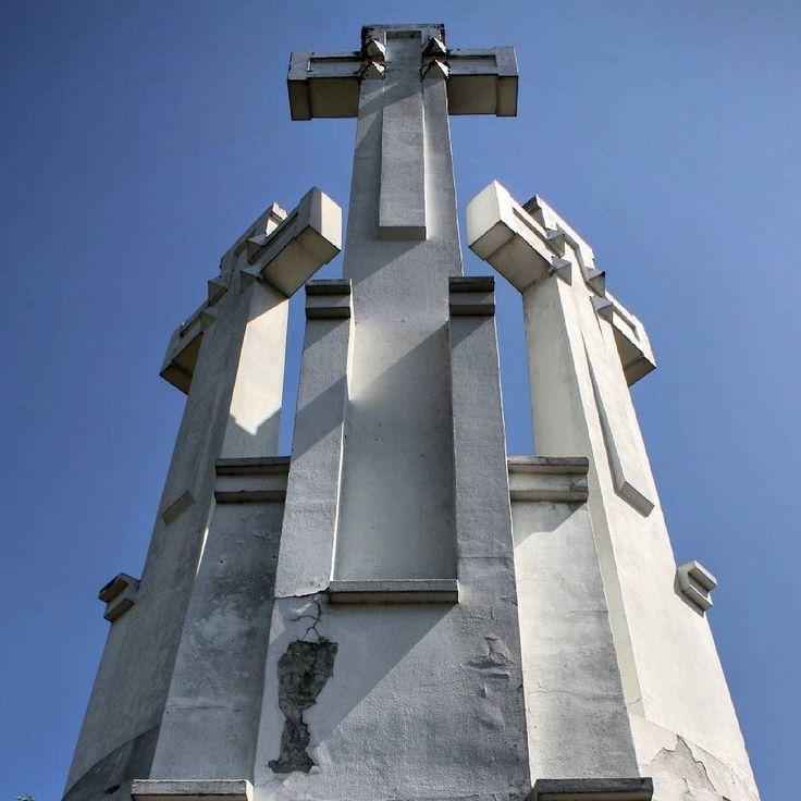 Three crosses on the Bleak Hill  Vilnius/Lithuania