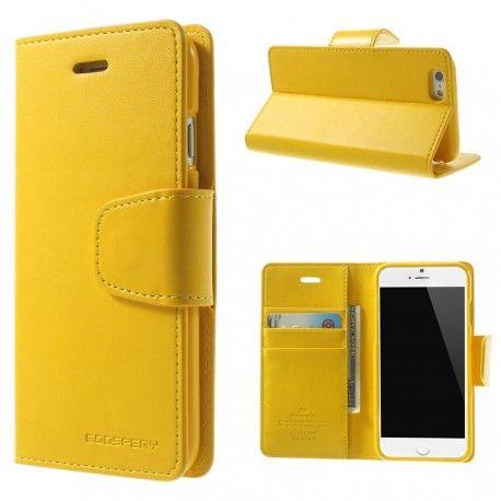 Apple iPhone 6 Keltainen Sonata Suojakotelo  http://puhelimenkuoret.fi/tuote/apple-iphone-6-keltainen-sonata-suojakotelo/