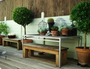 Rad idea for outside wall: Gardens Ideas, House, Rad Ideas