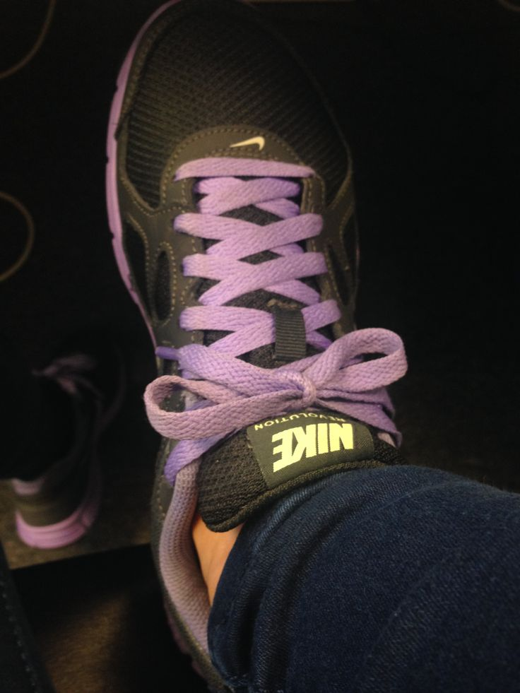 Again, these are my Nikes - love the colours - really cool and different - the laces always get compliments! I bought these a few months ago