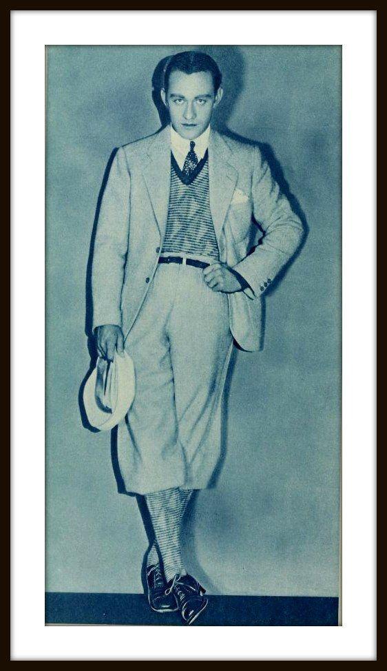 Hombre knickerbockers golf vintage 1920 s