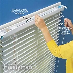 1000 Images About Restring Blinds On Pinterest The