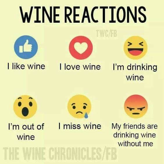 Wine reactions