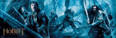 The Hobbit Pustkowie Smauga Starcie - plakat