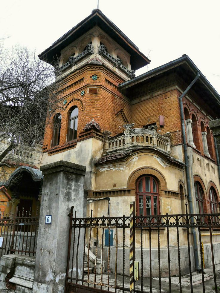 **Living in Bucharest**  House on Vasile Alecsandri Street, Bucharest, Romania