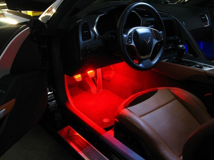C7 Corvette Footwell LED Strip Kit- Plug N Play!